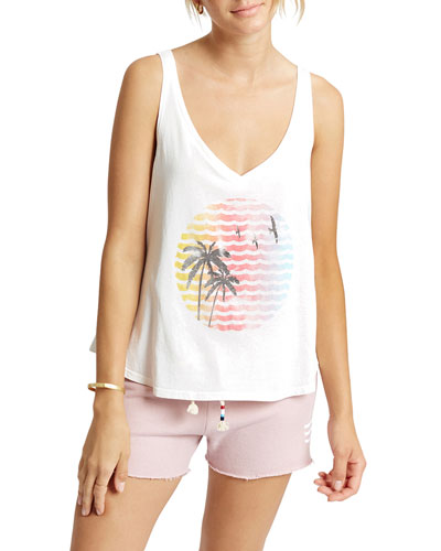 Indian Summer Graphic Tank