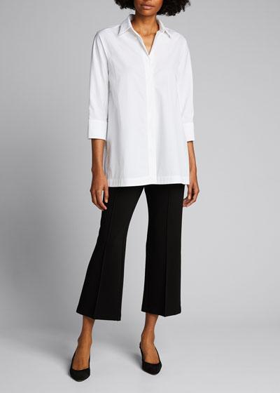 Manhattan Punto Milano Pull-On Crop Pants