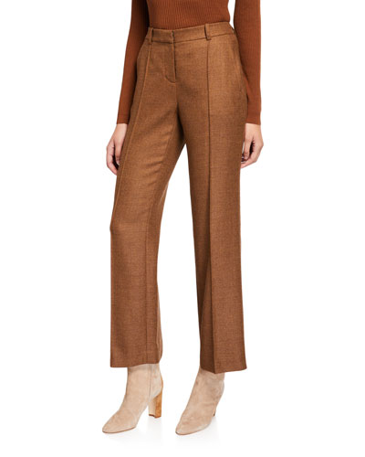 Winthrop Euphoric Melange Cloth Wool Pants