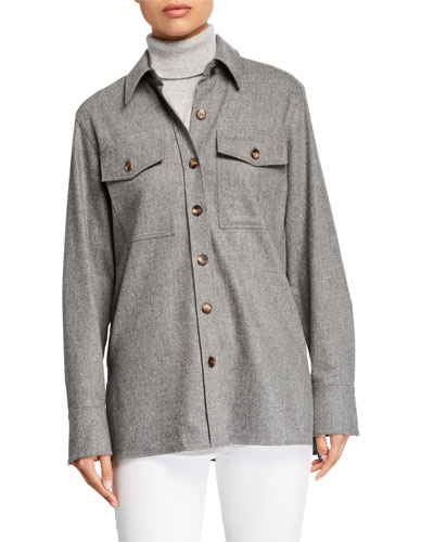 Greyson Finite Italian Flannel Blouse