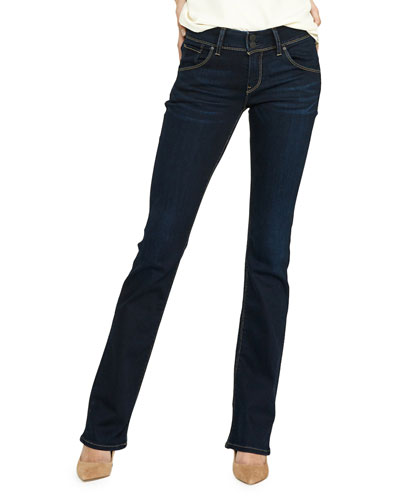 Beth Mid-Rise Boot-Cut Jeans