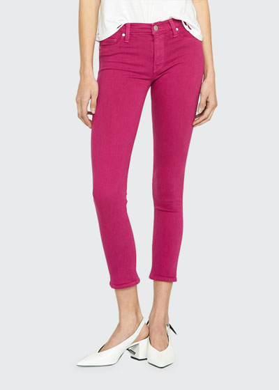 Nico Mid-Rise Cropped Skinny Jeans