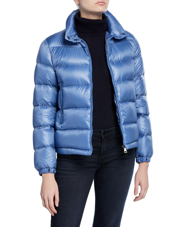 Moncler Coats COPENHAGUE FITTED PUFFER COAT