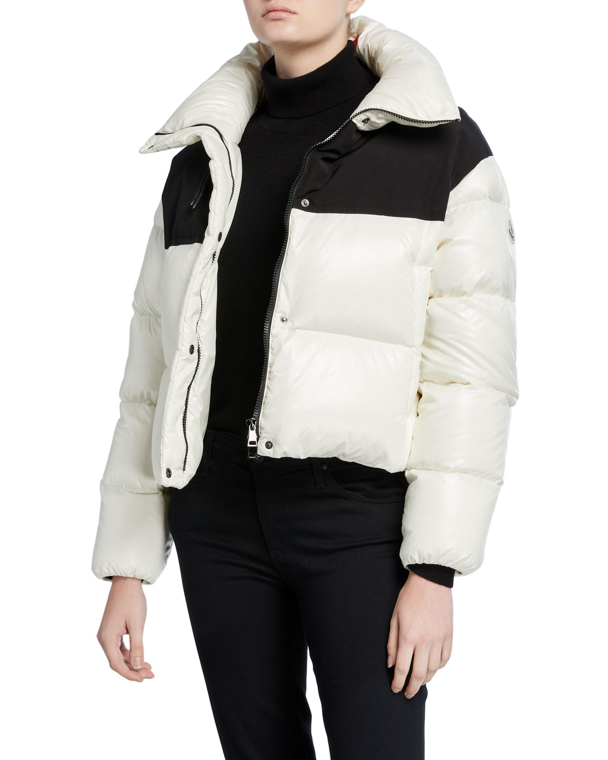 Moncler Coats NIL COLORBLOCK PUFFER COAT
