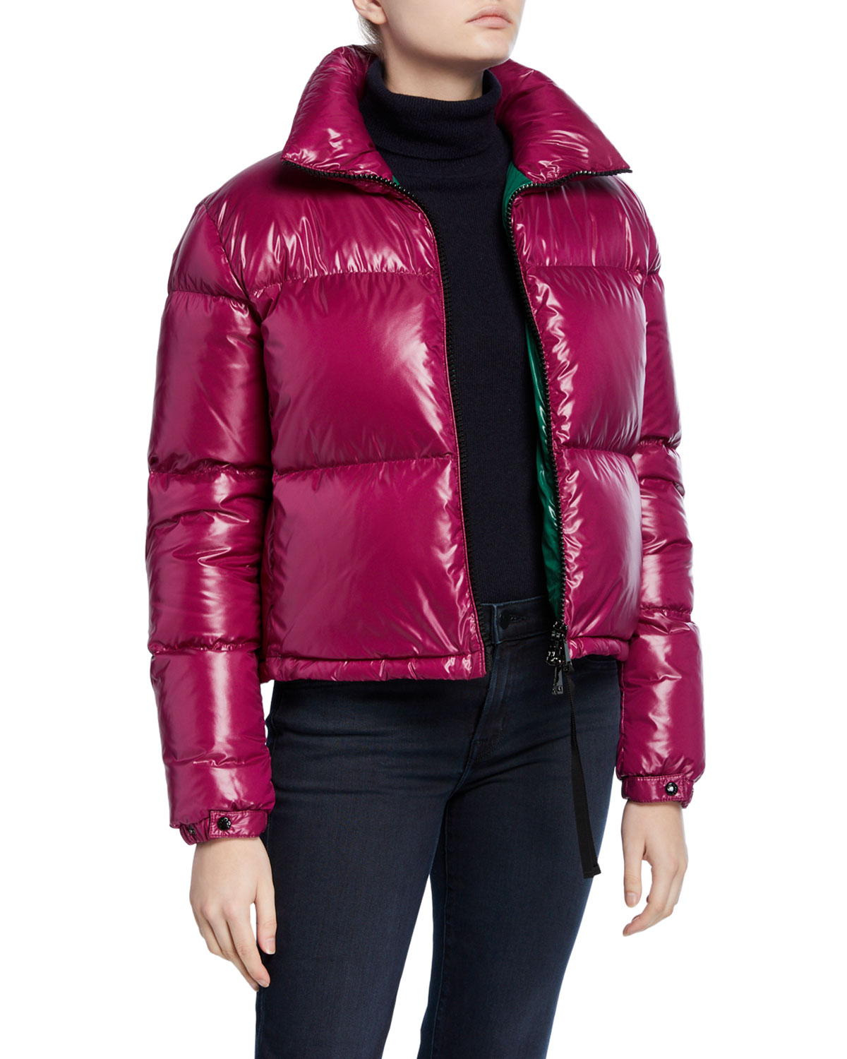 Moncler Coats RIMAC FITTED PUFFER COAT