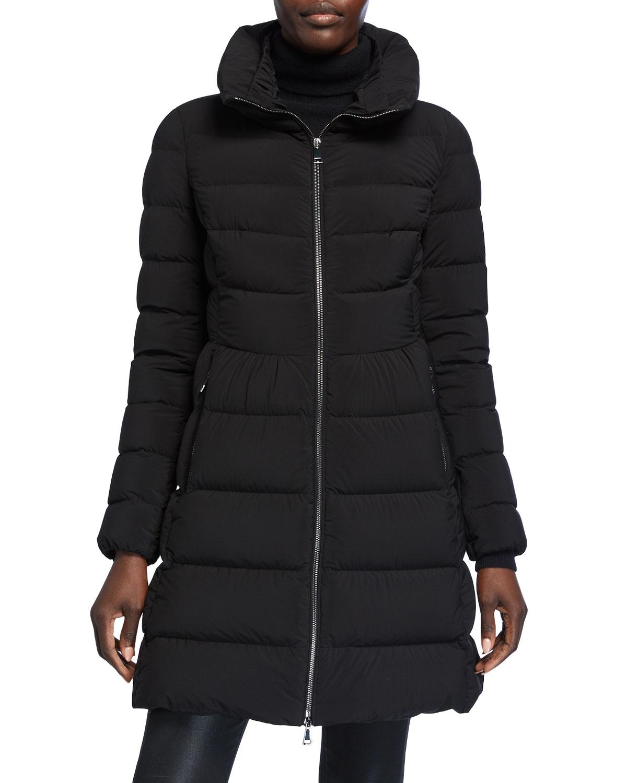 Moncler Coats NEVALON SEMI-FIT PUFFER COAT