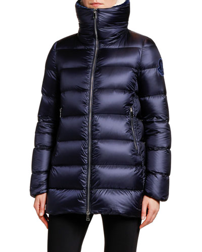 huge selection of d0964 f86bb Moncler Stand Collar Puffer Coat | bergdorfgoodman.com