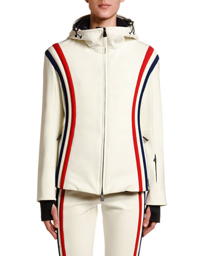 Brenva Tricolor-Trim Jacket