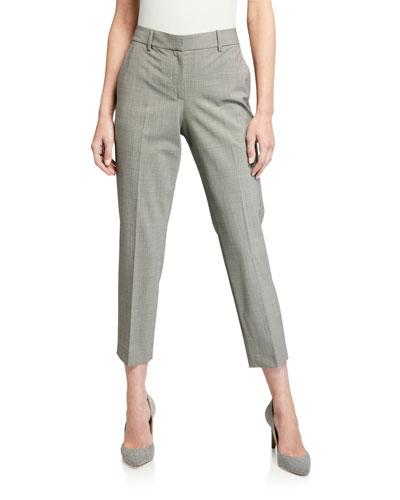 Treeca 2 Traceable Wool Straight-Leg Pants