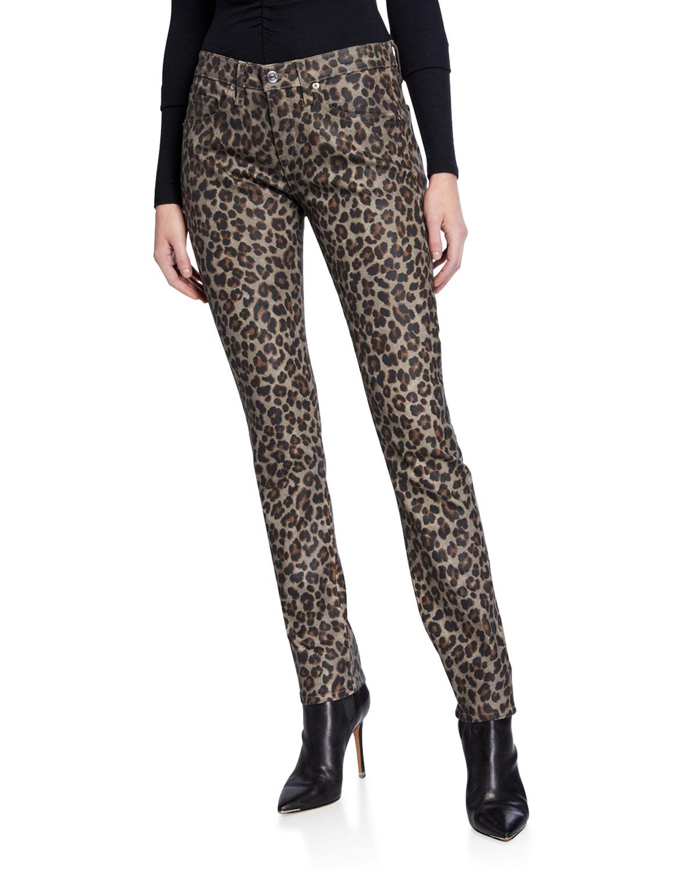 Veronica Beard Jeans BROOKE MID-RISE SKINNY JEANS