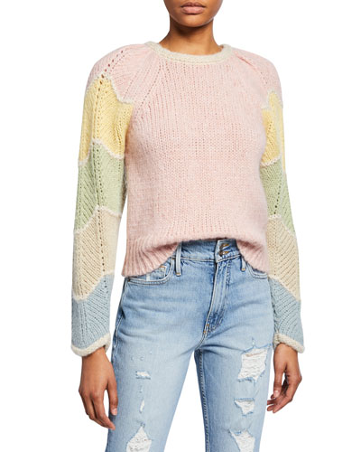 Aspyn Long-Sleeve Alpaca Sweater