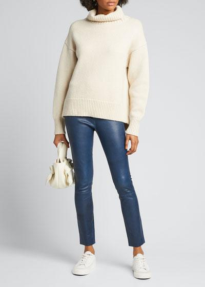 Lunet Lambs Wool Turtleneck Sweater