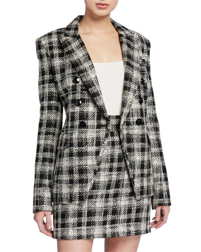 Miller Plaid Dickey Jacket