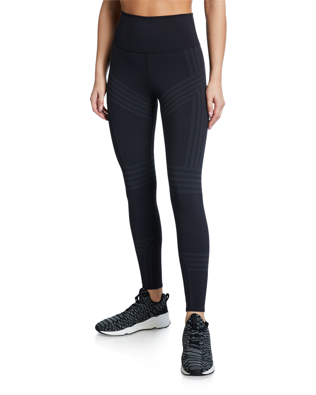 Alo Yoga Pants 7/8 HIGH-WAIST CHANNEL LEGGINGS