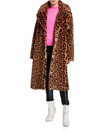 Fanny Leopard-Print Coat