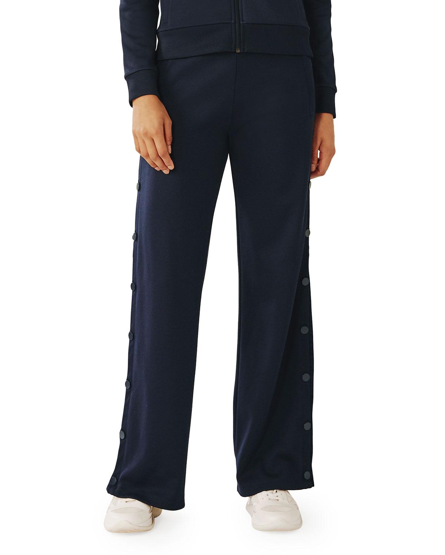 Tory Sport Pants TEAR-AWAY RUFFLE TRACK PANTS