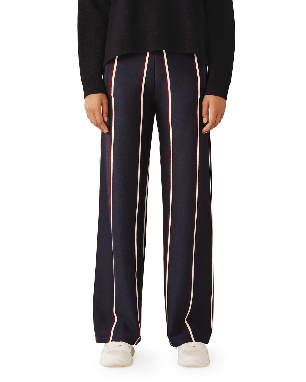 Tory Sport Pants TWIN STRIPE TRACK PANTS