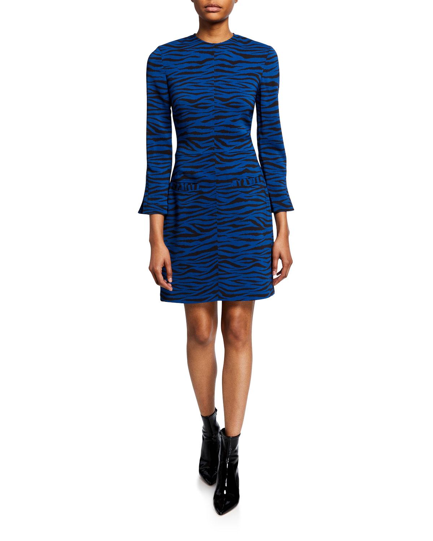 A.l.c Dresses NOELLE STRIPED CREWNECK DRESS