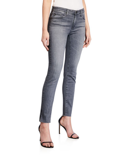 Prima Mid-Rise Straight-Leg Ankle Jeans