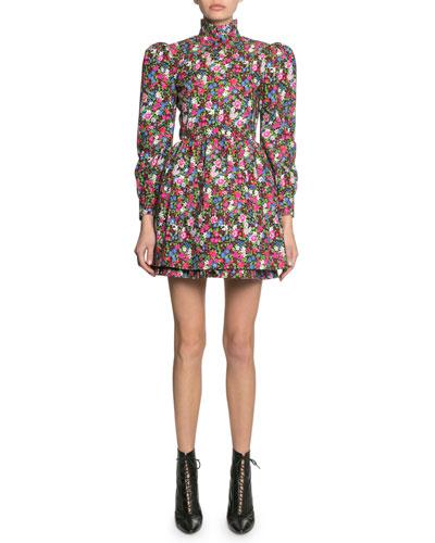 The Prairie Floral-Print Dress