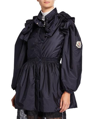 ae2ded32c Long Sleeves Nylon Jacket | bergdorfgoodman.com