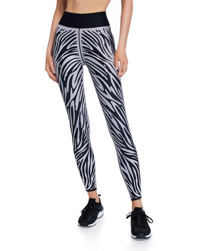 Ultra High Zebra-Print Leggings