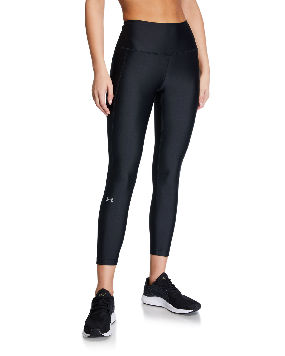 Under Armour Pants ARMOUR HIGH-RISE ANKLE CROP LEGGINGS