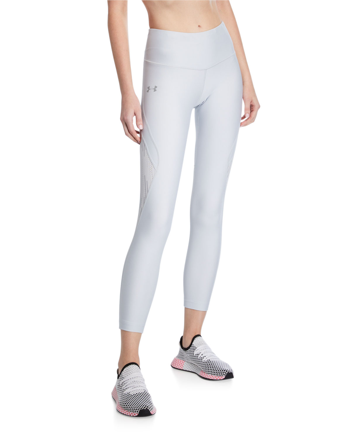 Under Armour Pants ARMOUR FLY FAST GLARE CROP LEGGINGS