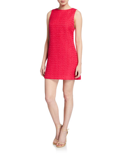 Clyde Sleeveless A-Line Shift Dress