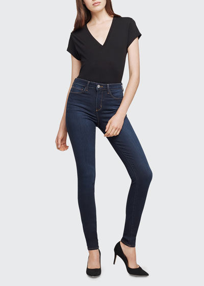 Marguerite High-Rise Skinny Ankle Jeans