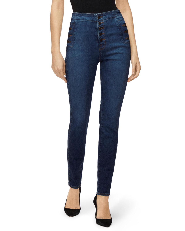 J Brand Jeans NATASHA SKY-HIGH SKINNY JEANS