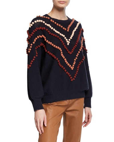 The Bobble Pullover Sweater