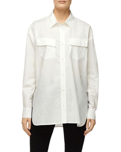 Bryson Oversized Button-Down Shirt