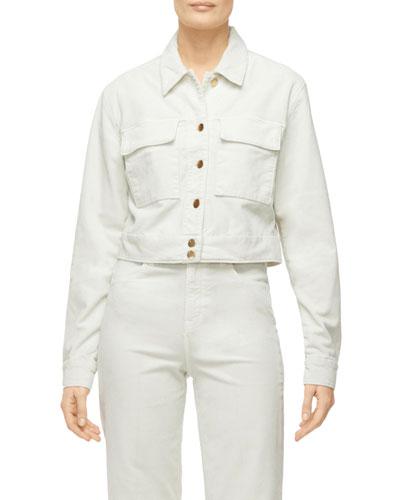 Ray Cropped Denim Jacket