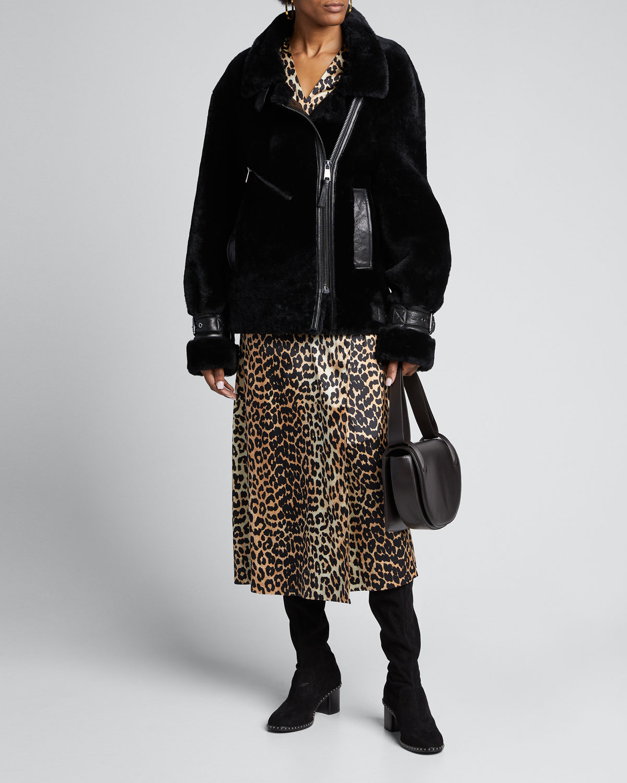 Nicole Benisti Coats GREENWICH FOX FUR REVERSIBLE COAT