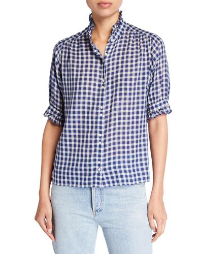 The Cedar Plaid Button-Down Shirt
