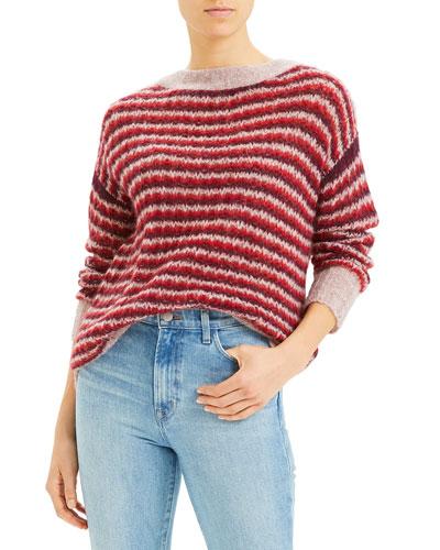 Alpaca Stripe Sweater