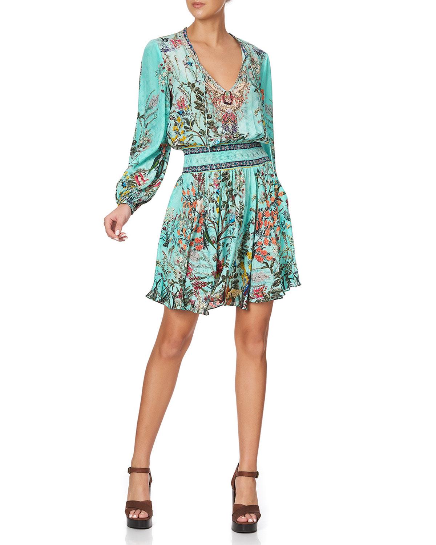 Camilla Dresses SHIRRED RELAXED SHORT DRESS