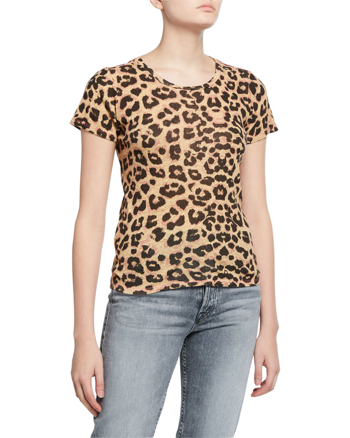 Mother Tops THE ITTY BITTY SINFUL PRINTED TEE