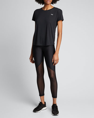 Whisperlight Mesh Short-Sleeve Top
