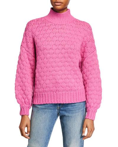 Alya Knit Turtleneck Sweater