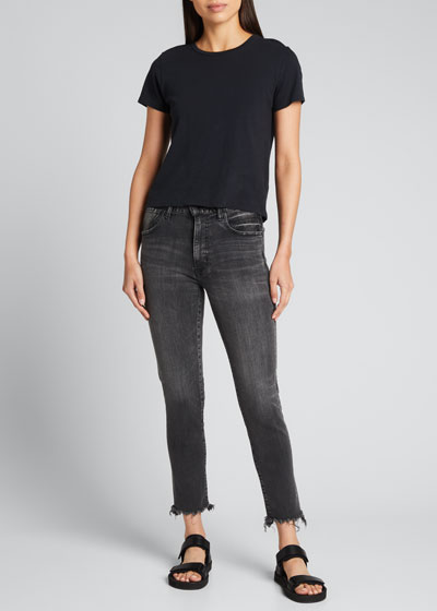 Westcliffe Cropped Skinny High-Rise Jeans