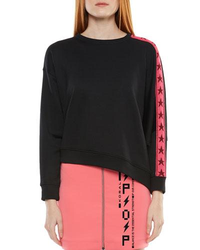 Valasca Asymmetrical Sweatshirt