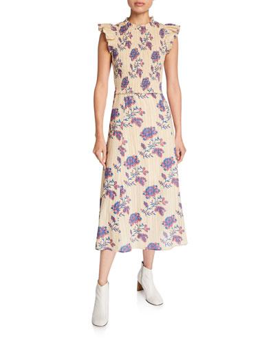 Odette Smocked Dress