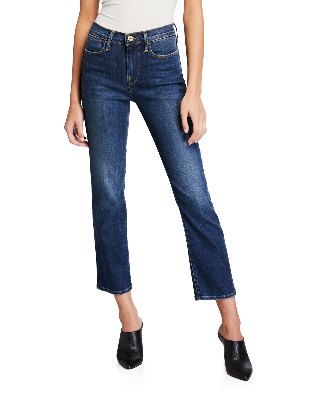 Frame Jeans LE HIGH STRAIGHT JEANS IN DUBLIN