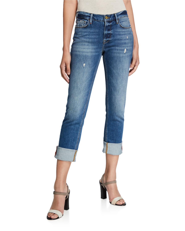 Frame Jeans LE NIK STRAIGHT-LEG JEANS