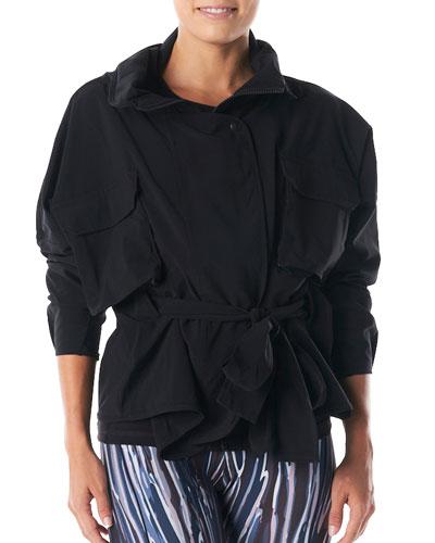Matrix Zip-Front Active Jacket with Mesh