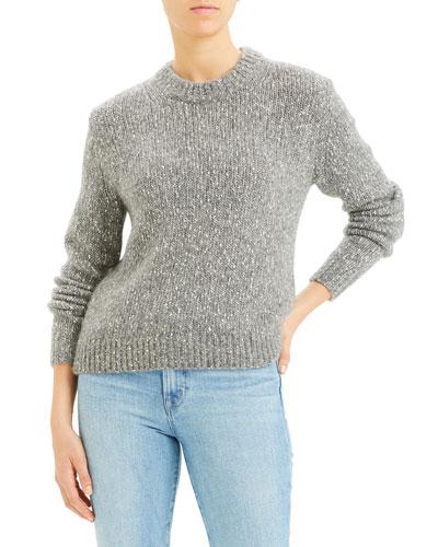 Speckled Crewneck Sweater