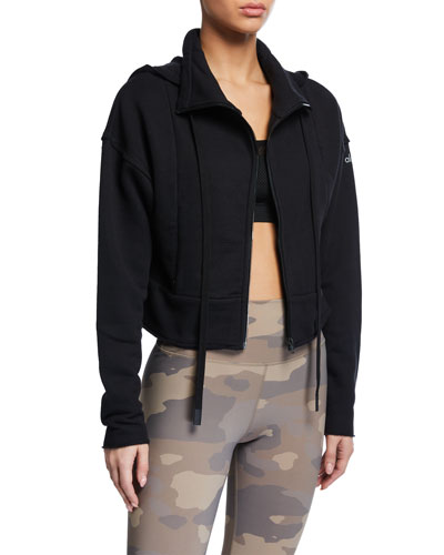 Trail Hooded Cropped Jacket