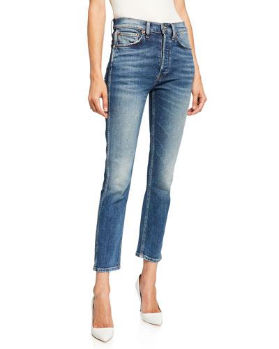 50s Cigarette Ankle Jeans